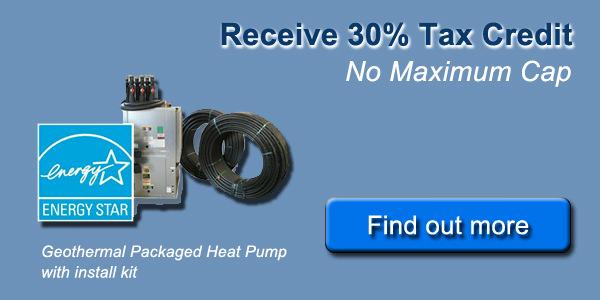 tax credit blue 600wide 30% Geothermal Tax Credit