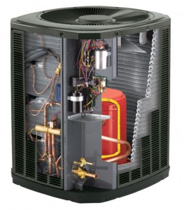 Heat Pump Cutaway How It Works 263x300 A Guide to Air Source Heat Pumps