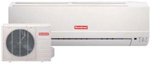 goodman mini split. goodman ductless mini split system 13seer 1ton heat pump 13.0 seer o