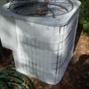Thawing a Frozen Heat Pump