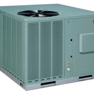 Rheem Packaged Dual Fuel 14 SEER 3.5 Ton 100k BTU Gas