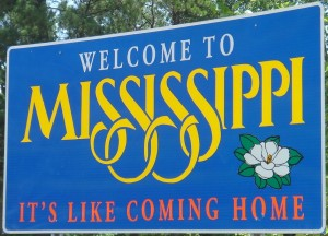 mississippi welcome sign close up 300x216 Maximizing Geothermal Incentives: Mississippi